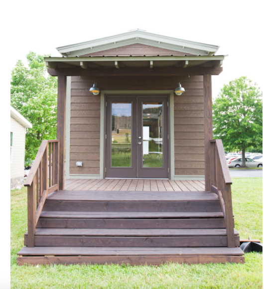 Shown with Alders Prime siding and beige trim. Click on photo for virtual walk through.