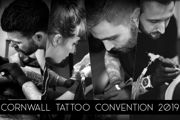 Cornwall Tattoo Convention - 2019 — Atelier Four