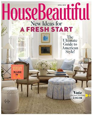 House Beautiful / April 2012