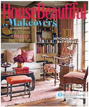 House Beautiful / February 2013