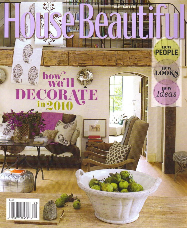 "<a href=""/house-beautiful-january-2010"">House Beautiful / January 2010</a>"