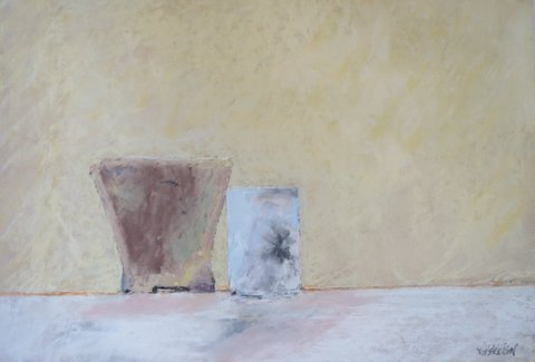 RICHARD HARRISON  -  TWO POTS IN SUNLIGHT   -  ENTRY 2