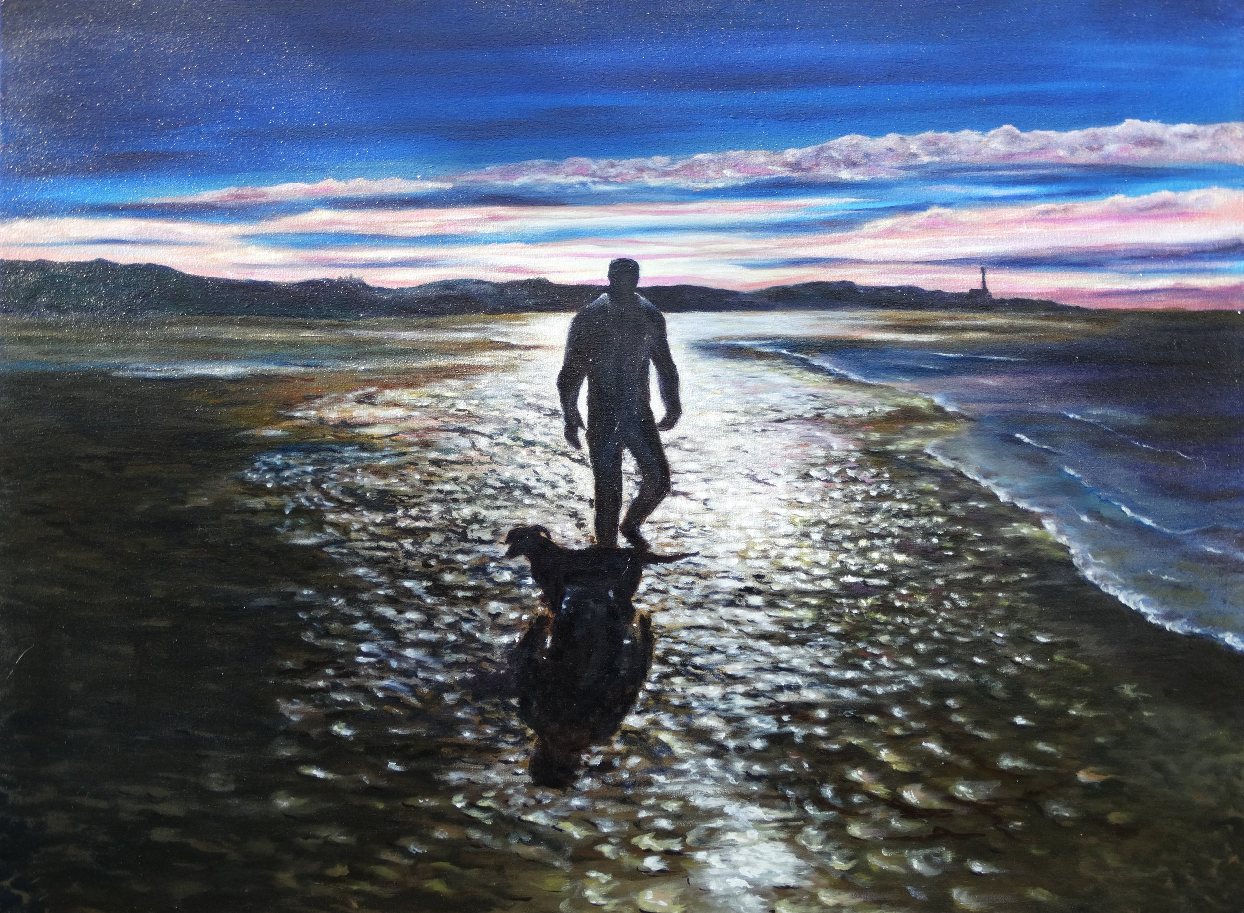 Sundown Man & Dog