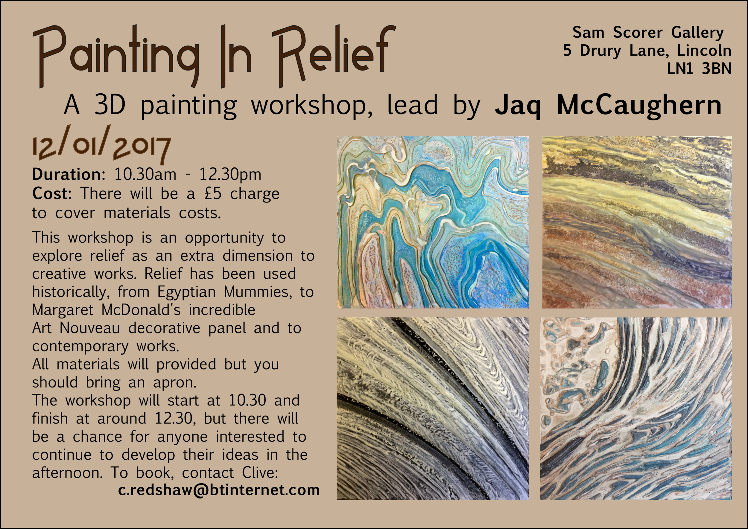 PaintinginReliefWorkshop