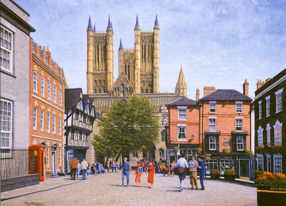Lincoln Cathedral, Peter Montgomery