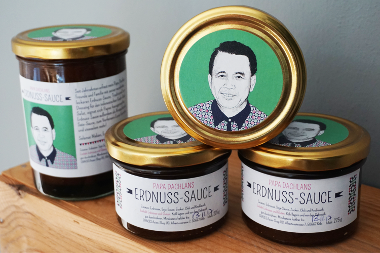 Papa Dachlans Erdnuss-Sauce