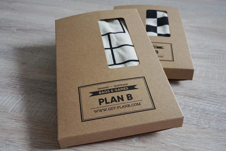 Plan-B-Verpackung