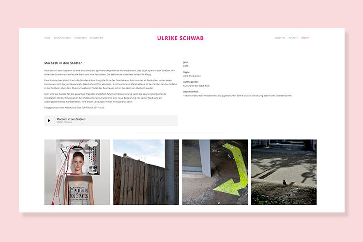 Ulrike-Schwab-Website