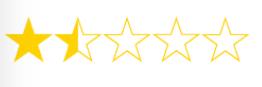 1.5 out of 5 Stars =  Varsity Tutors Review