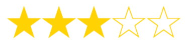 3 out of 5 Stars - Review of Princeton Review's Programs