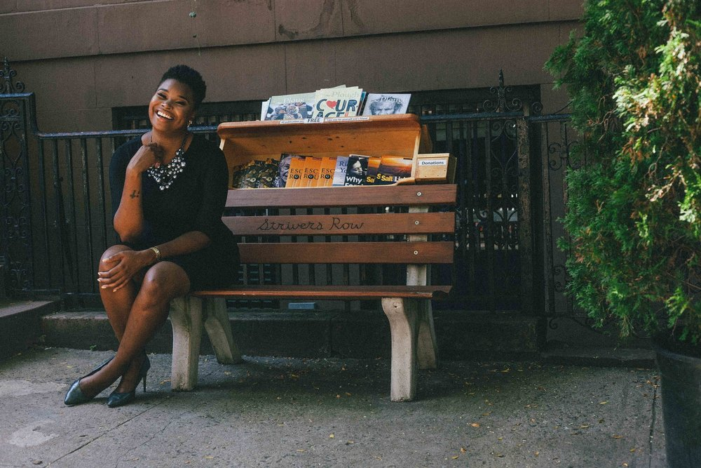 Strivers Row: Duanecia Evans - Profile by: Desiree SwindellPhotos by: Jarrod