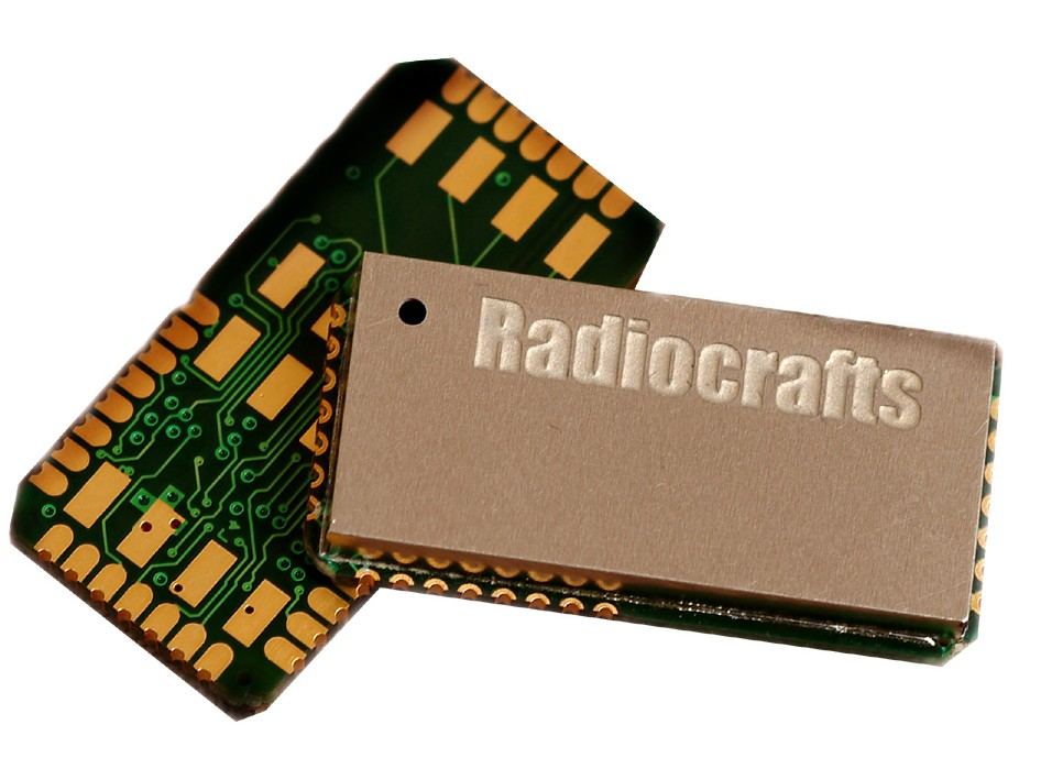 Radiocrafts Modules for IoT, Wireless M-Bus and KNX