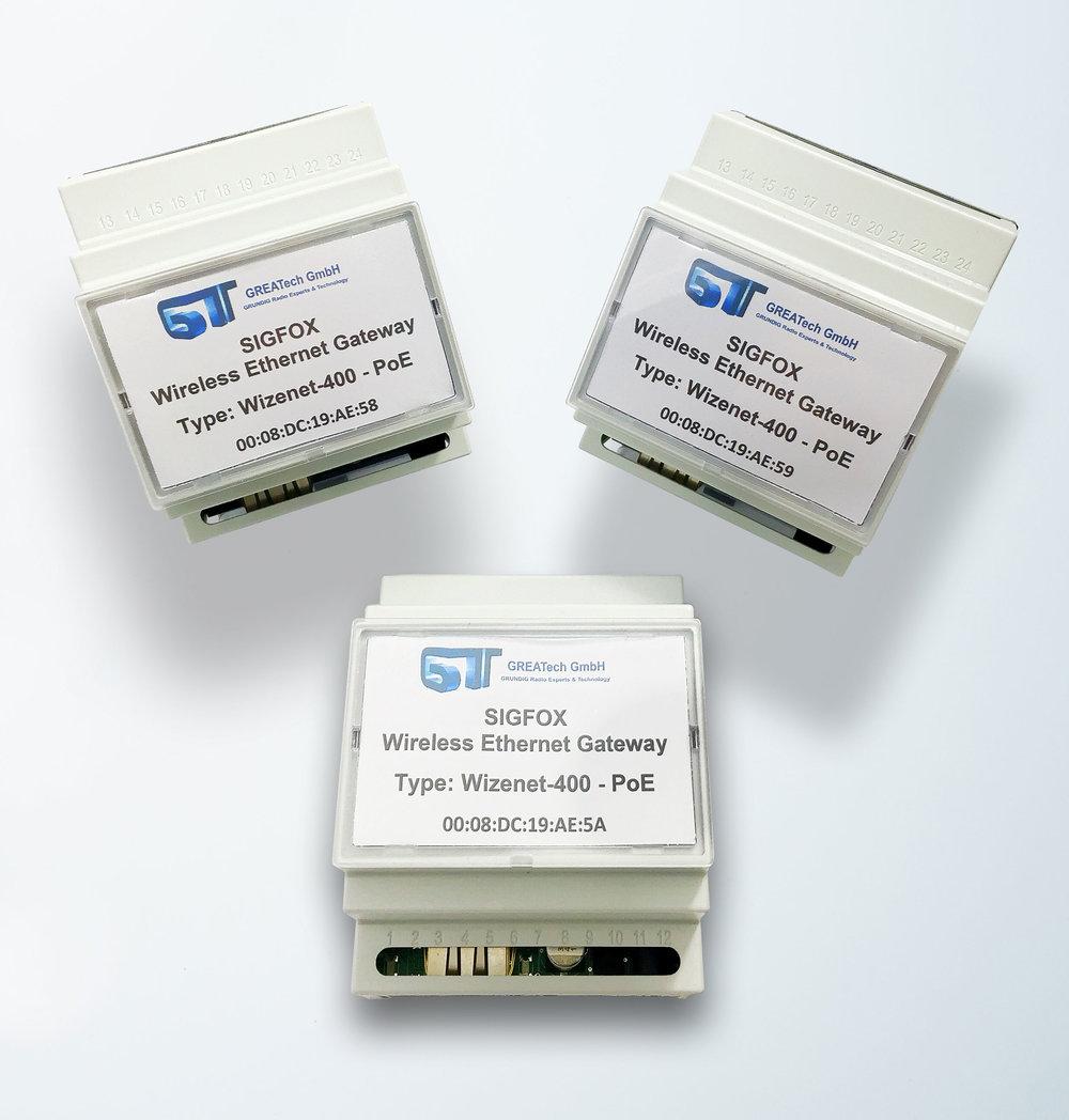 Greatech Wireless Ethernet Gateway Wizenet-400 (SIGFOX)