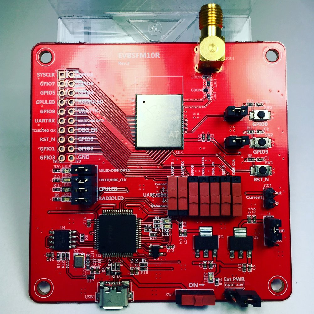EVBSFM Sigfox Wisol IoT Board / dev kit (OEM)