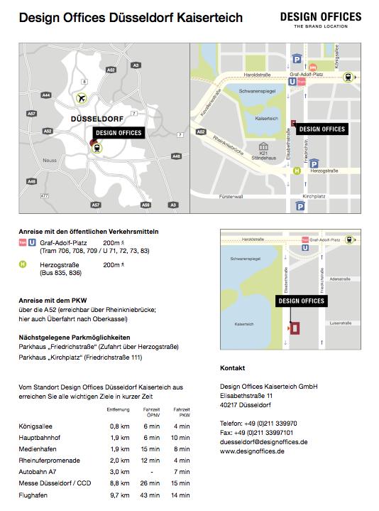 design-offices-düsseldorf-anreise