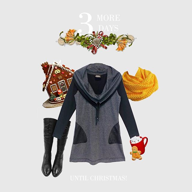 Anyone doing any holiday baking? • #fashion #winter #style #christmas #grey #gibgerbread #decorations #ootd