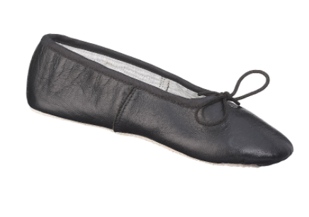 Black ballet slippers (for ballet)