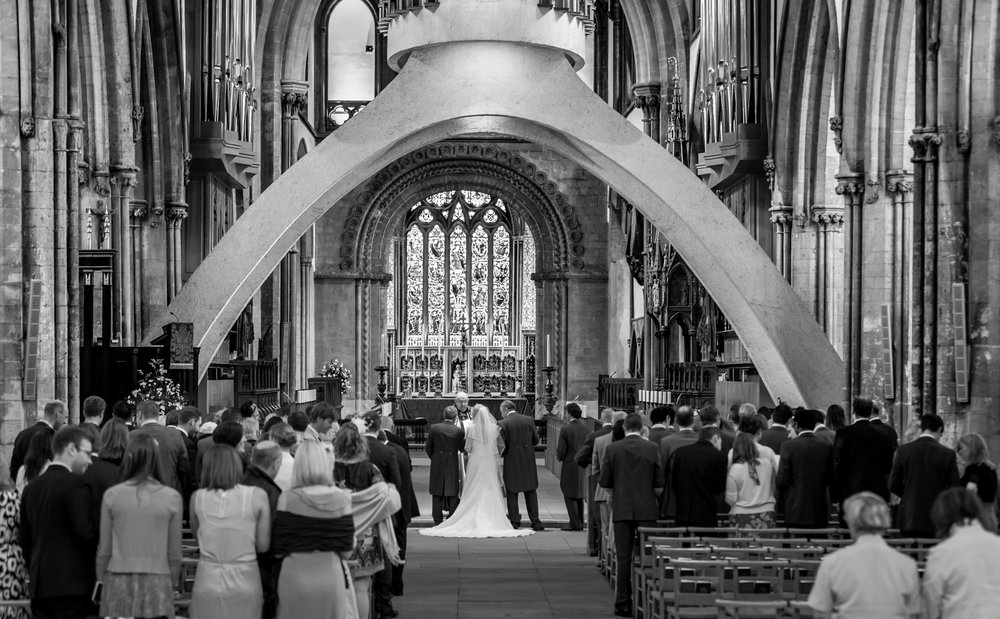 Beautiful Llandaff Catheral weddings