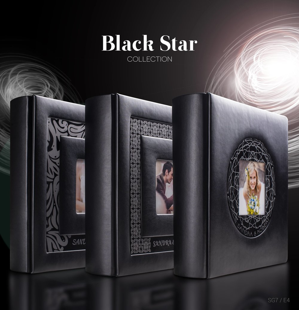 Black Star wedding albums