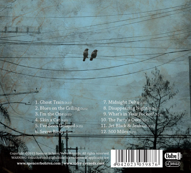 Seven Birds CD — Spencer Bohren