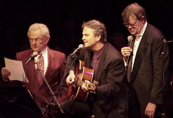 Minnesota Public Radio – February, 17 2001 – Ralph Stanley, Spencer Bohren and Garrison Keillor on A Prairie Home Companion.