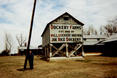 SB at Dockery Farms in the Mississippi Delta