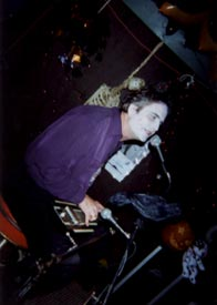 SB performing for a Halloween party in Colorado