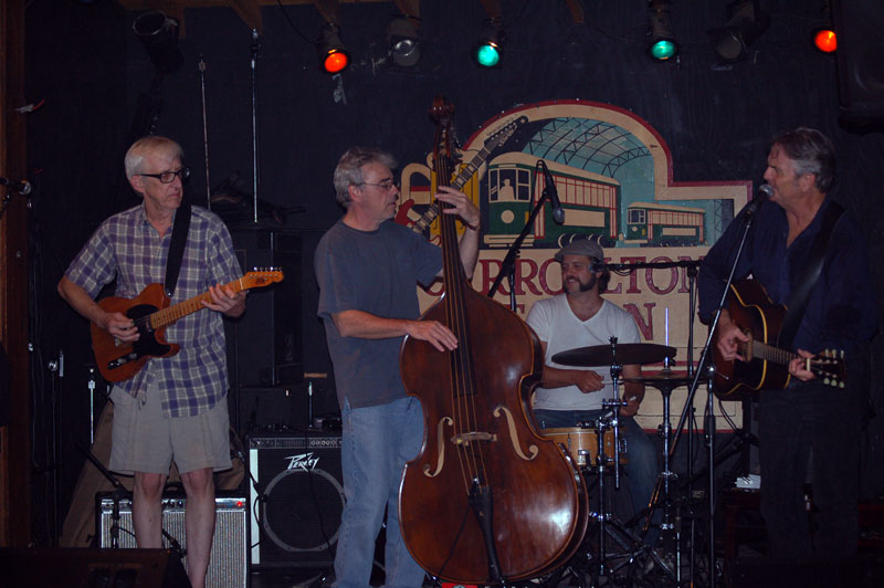 Impossible Cases (Bill Kirchen, Reggie Scanlan, Andre Bohren and Spencer Bohren).