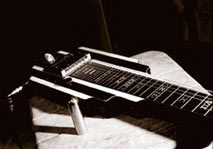 Lap Steel guitar.