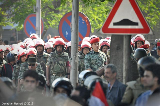2012 protests. Photo by: Jonathan Rashad.