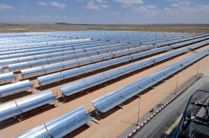 Solar Power Plant plant in Morocco. Source: Flickr Creative Commons via The World Bank.