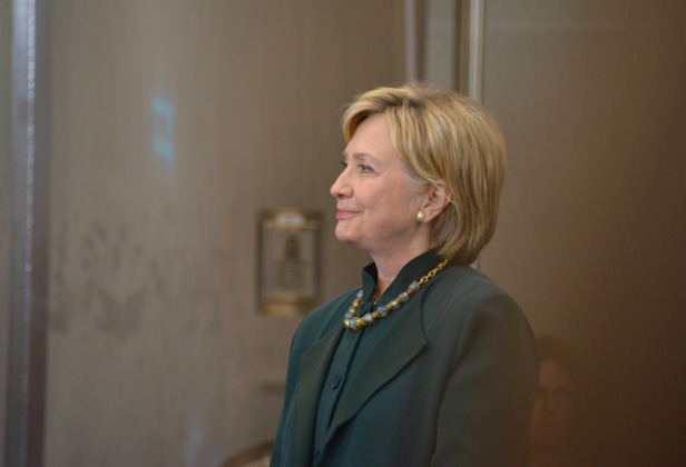 Hillary Clinton at Ohio rally. Photo by: Sarah Hina
