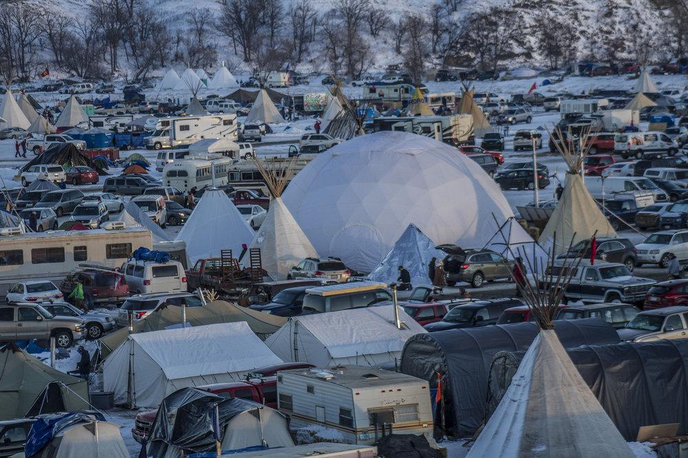 Standing Rock camp. Photo credit: Dark Sevier