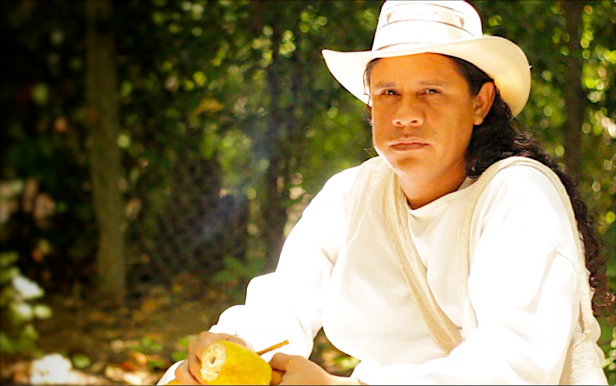 Pedro Loperena, an indigenous Wiwa leader, is organizing the fight against coal and other megaprojects on Wiwa territory