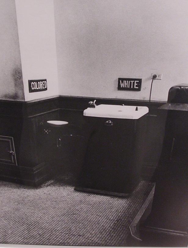 Plessy v Ferguson upheld the constitutionality of racial segregation in public facilities. Photo by: Joe Benjamin.