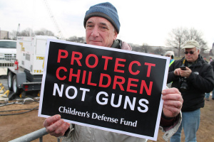 Many more people than just children in the U.S. are affected by lax gun purchase regulations. Source: Flickr Creative Commons.