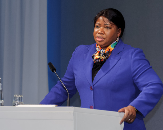 Fatou Bensouda, the Chief Prosecutor of the ICC. Photo by: Stephan Röhl