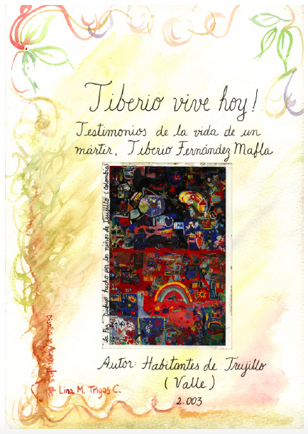 Cover of the book Tiberio vive hoy: testimonios de la vida un mártir