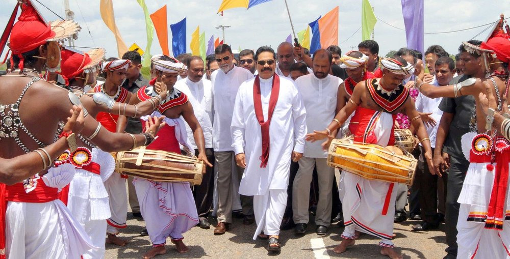 Former Sri Lankan President Rajapaksa has been characterized by his strong nationalist views and personalist style. Photo: Flickr - Mahinda Rajapaksa.
