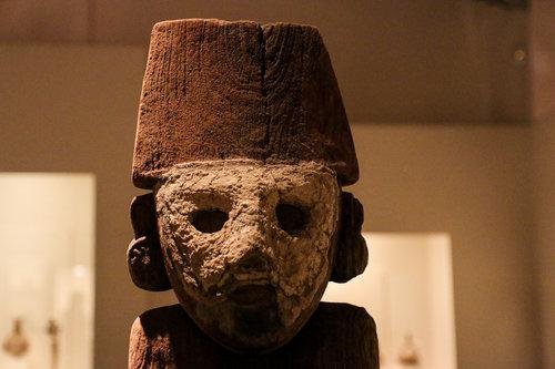 Inca artifact at Museo Larco in Lima, Peru. Photo by: Josh Koonce