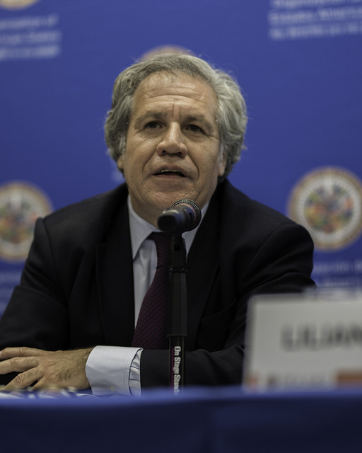 Secretary General of the OAS, Luis Almagro. Though different from the region's rising far-right leadership, Almagro's insistence on an ICC investigation may also have had political motivations. Image Source:    OEA - OAS   , Flickr (   CC BY-NC-ND 2.0   ).
