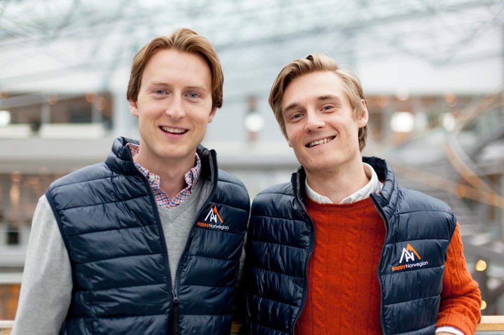 Espen Hinsch og Brage Eriksen
