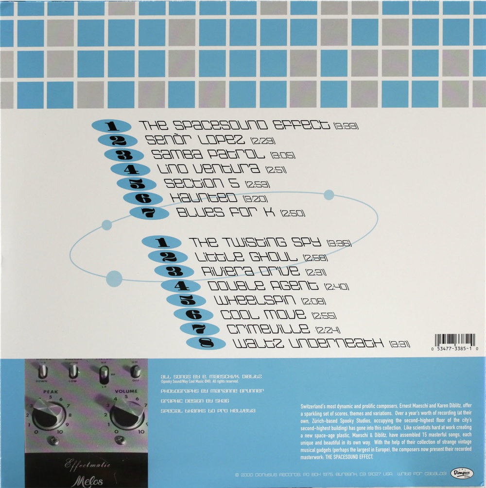 Dionysus RecordsLP/CD ID 123385  Stereophonic Space Sound Unlimited  the spacesound effect