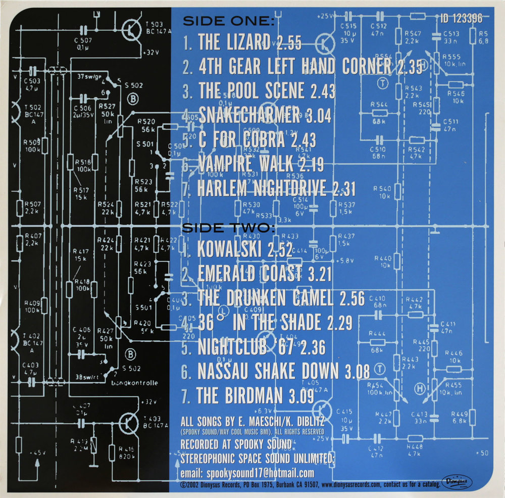 Dionysus Records LP/CD ID 123369  Stereophonic Space Sound Unlimited  Jet Sound Inc.