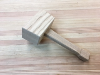 What will you make with your mallet?