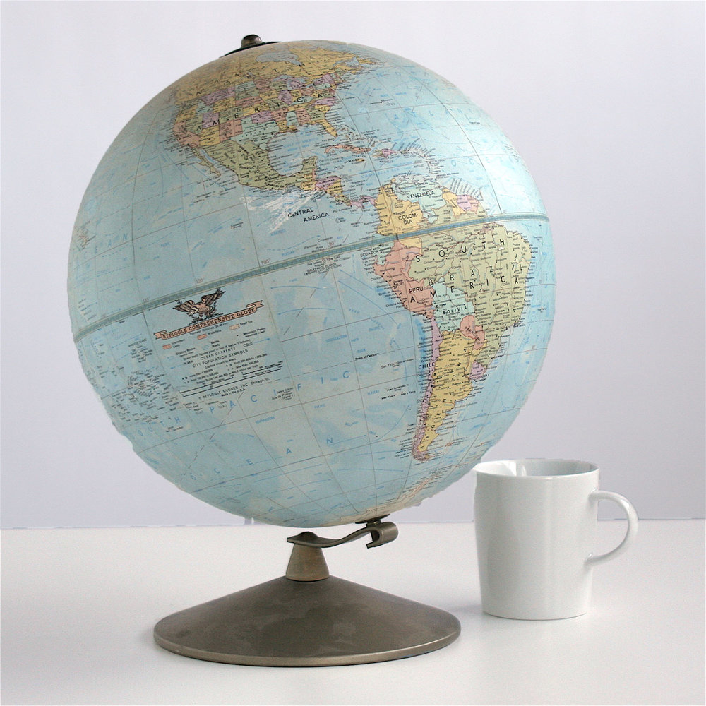 Flags. Globes. Maps.