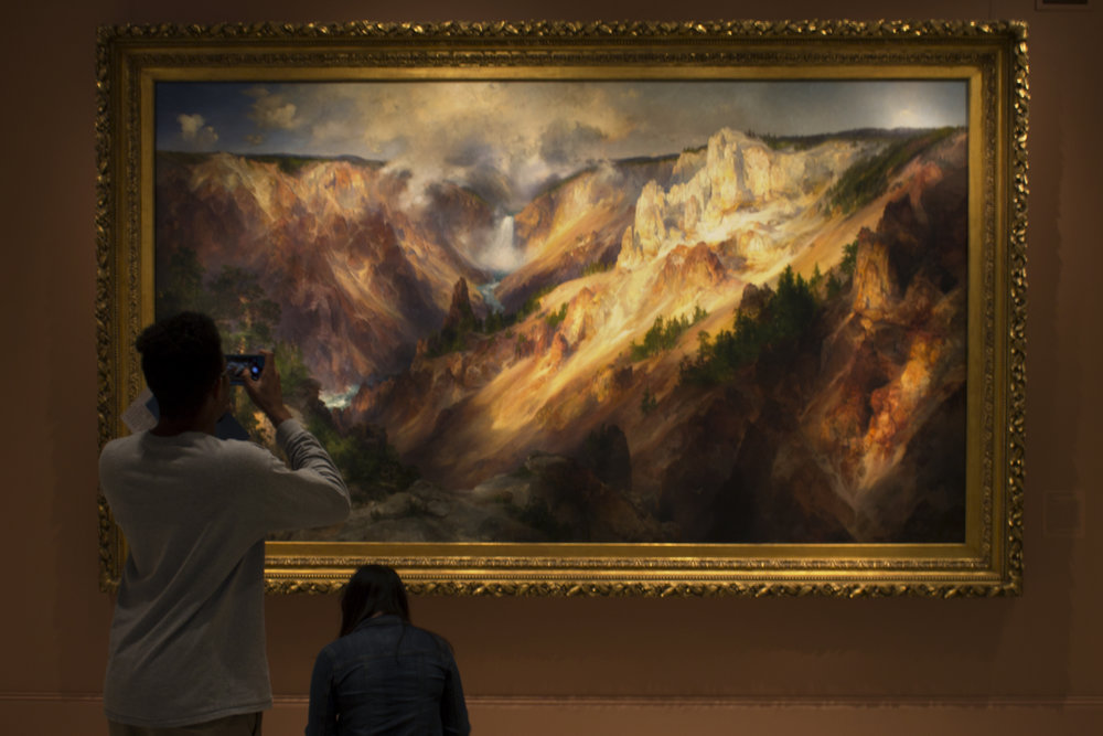 Thomas Moran   The Grand Canyon of the Yellowstone  1872