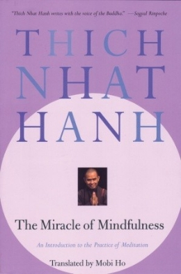 It is a manual on meditation. In this book, the Vietnamese Buddhist monk Thich Nhat Hanh presents several methods for becoming liberated.