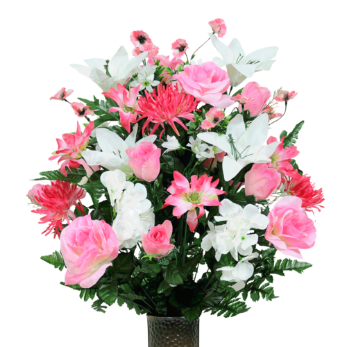 Seasonal silk flower arrangement new cathedral cemetery seasonal silk flower arrangement mightylinksfo Image collections
