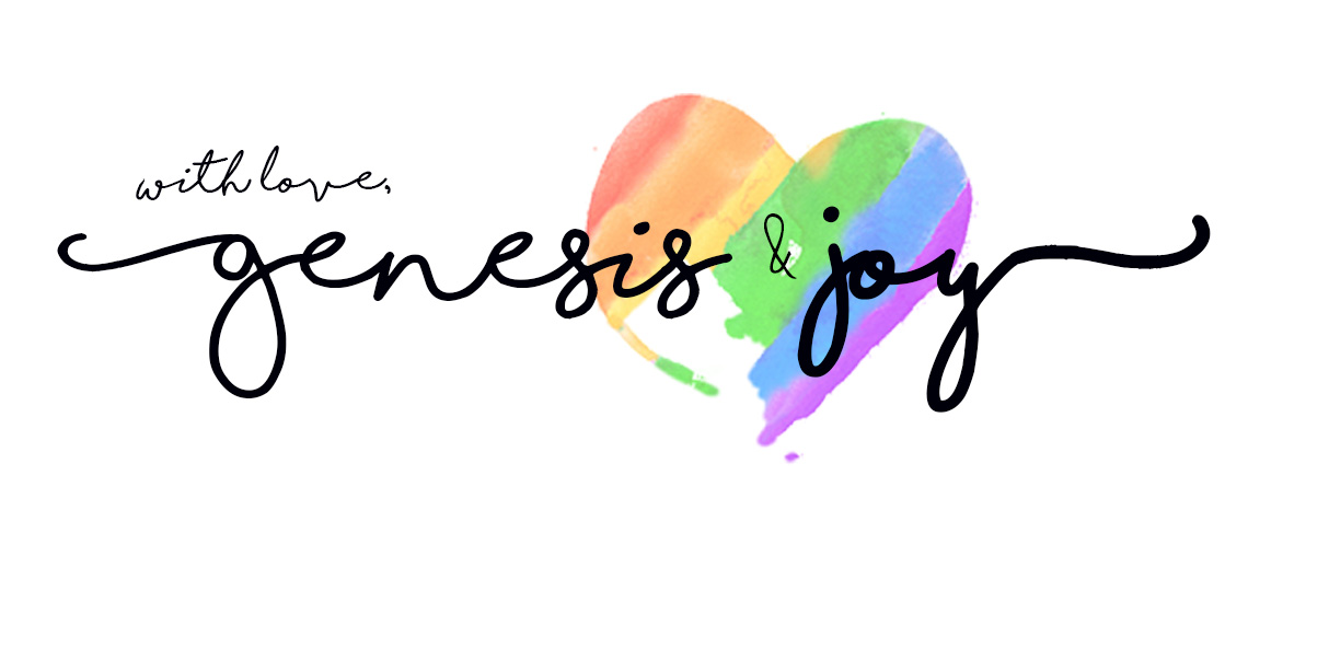 With Love, Genesis and Joy